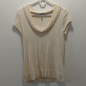 Cache Women's Short Sleeve Blouse S